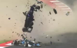 Drivers suffer injuries after huge Formula 3 crash