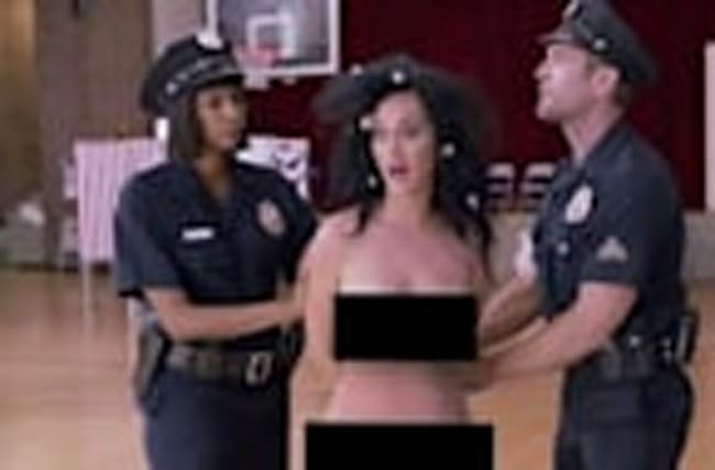 Katy Perry STRIPS Down In Video To Raise Voting Awareness