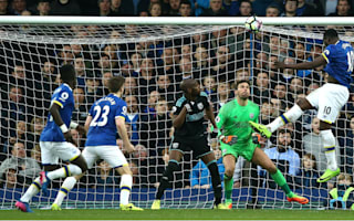 Everton 3 West Brom 0: Hosts equal last season's points tally with easy win