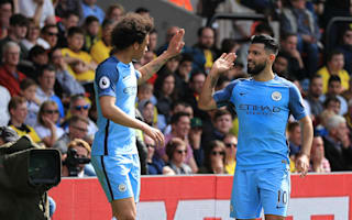 Watford 0 Manchester City 5: Aguero at the double for five-star City