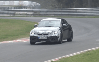 BMW's new range-topping M2 spotted testing in Germany
