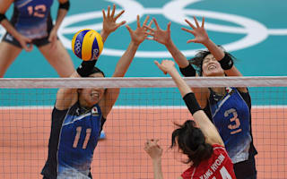 Rio 2016: Volleyball court receives emergency repair