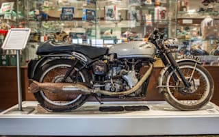 Rare 50-year-old Velocette goes to auction