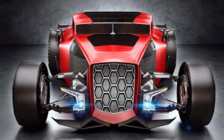 Take a look at the unofficial Lamborghini Rat Rod Concept