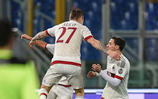 Roma 1 AC Milan 1: Garcia, Mihajlovic fail to secure much-needed win