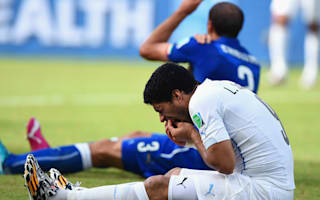Barcelona tried to lower Suarez price after Chiellini bite, claims ex-Liverpool CEO