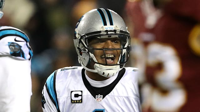 Panthers QB Newton throws for first time since surgery