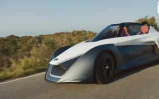 Nissan reveals electric sportscar prototype