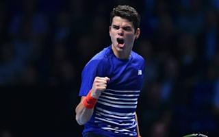 Raonic joins Djokovic in last four