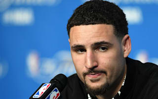 Thompson doesn't blame slump on Durant addition