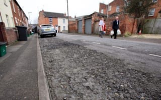 Is this the biggest pothole in Britain?