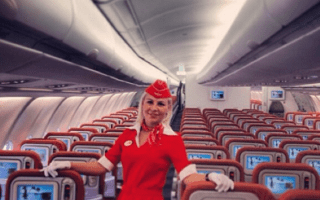 Cabin crews take the selfie craze to the skies