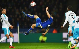 Leicester City 1 Newcastle United 0: Okazaki overhead kick ruins Benitez bow