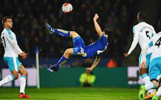 Leicester City 1 Newcastle United 0: Okazaki overhead kick ruins Benitez bow