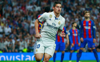 James wants Real Madrid stay, says wife