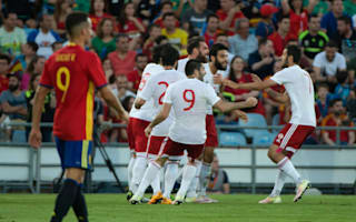 Spain 0 Georgia 1: European champions suffer shock defeat