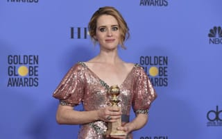Claire Foy takes Best Actress Golden Globe for portrayal of the Queen