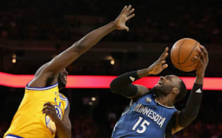 Timberwolves shock Warriors, 76ers avoid unwanted record