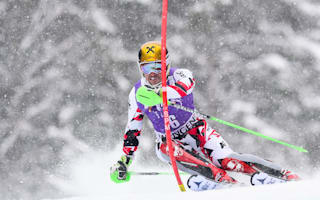 Hirscher out as Kristoffersen takes Wengen victory