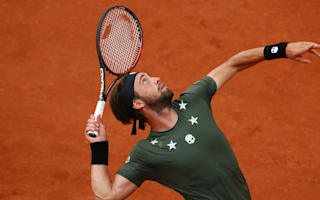 Embarrassed Basilashvili determined to learn from Nadal thrashing