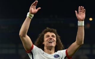 David Luiz pays tribute to PSG president