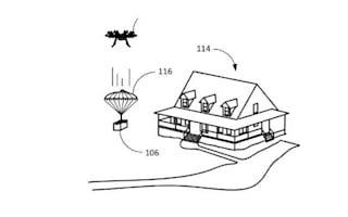 Amazon awarded parachute shipping patent for drone delivery