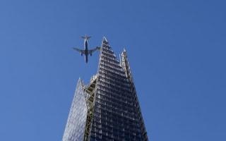 Drone in near-miss passenger plane over London