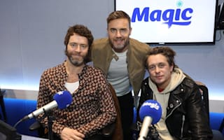 Take That take on Ed Sheeran in albums chart