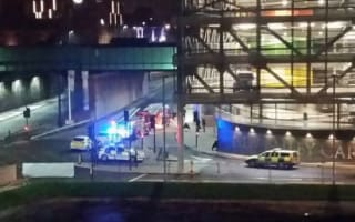 Body found inside burning tent under bridge