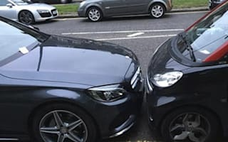 Smart driver leaves hilarious note on closely-parked Merc