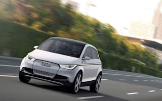 Audi displays A2 electric concept before Frankfurt reveal