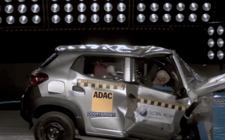 Renault's no-star safety rating car shown in shocking video