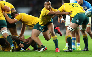 Genia takes scrum-half role from Phipps