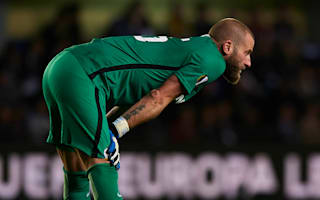 Bicik apologises for mistake in loss to Villarreal