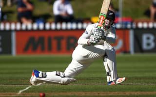 Nicholls century leads New Zealand fightback