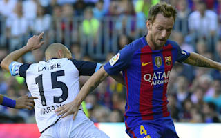 Barca must play 'perfect game' to beat City - Rakitic