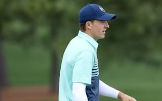 Spieth shares lead after mastering 12th at Augusta