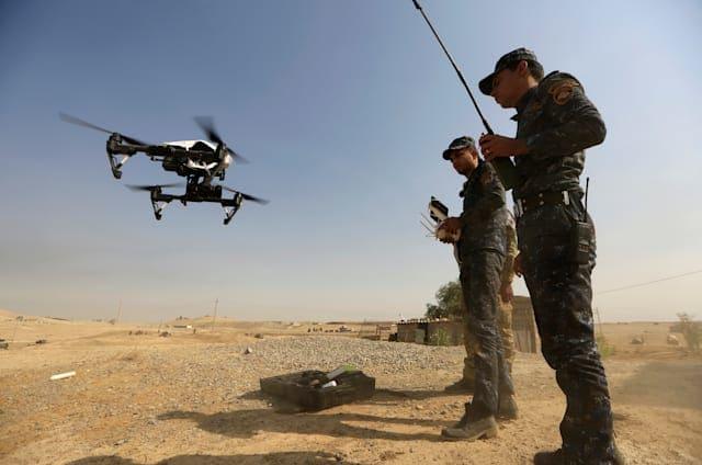 ISIS está convirtiendo drones comerciales en sus nuevas bombas