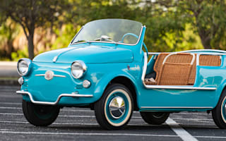 Fiat 500 'Jolly' up for sale in November