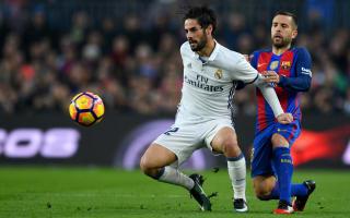 Alba wants Isco at Barcelona