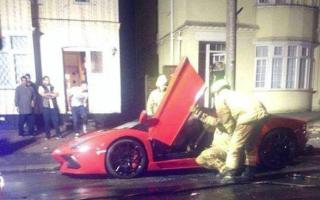 Lamborghini Aventador torched by vandals