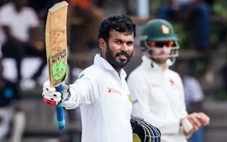 Rare Tharanga ton extends Sri Lanka's advantage