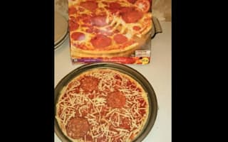 Morrisons triple pepperoni pizza comes with just three sausage slices