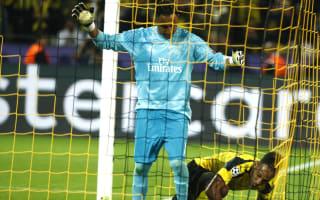 Navas accepts blame for Dortmund equaliser