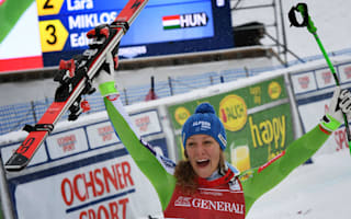 Stuhec doubles up as downhill taste hooks Shiffrin