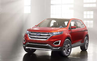 Ford Edge Concept previews new full-size 4x4