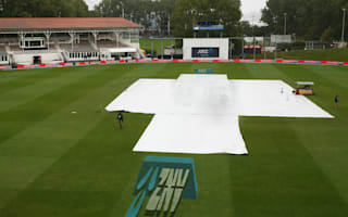 First Test drawn as final day is washed out in Dunedin