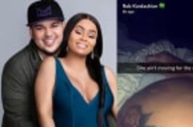 Rob Kardashian Posts Snapchats In Bed With Chyna Amid Family Drama