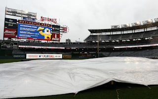 Game two between Dodgers and Nationals postponed