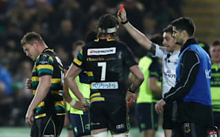 Hartley sent off as Leinster all but eliminate Saints